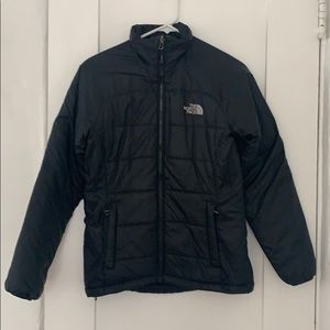 North Face light puffy coat